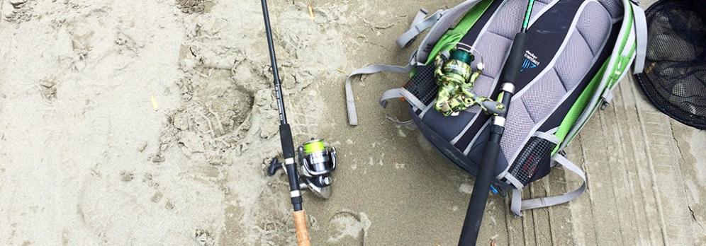 První rybaření na Zélandu.