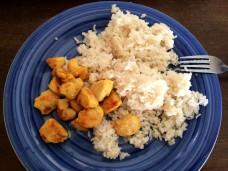 Už umím vařit i rýži, je to dost zdlouhavé