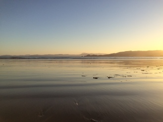 Nekonečná pláž.