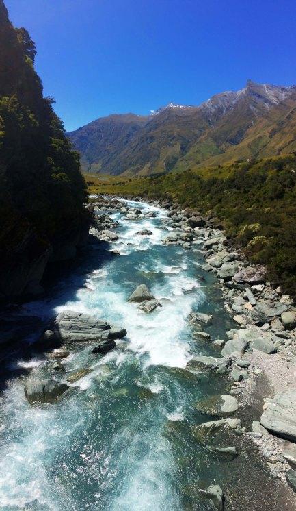 Řeka z ledovce