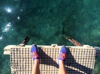 Molo a nádherná voda