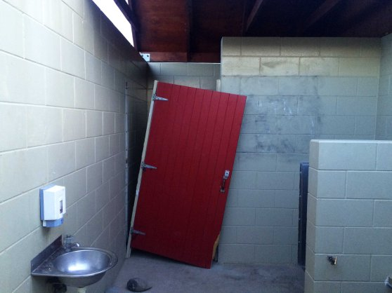 Záchod v kempu