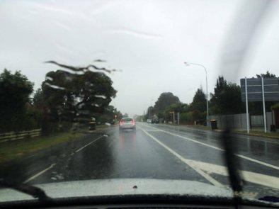 Tropické deště.