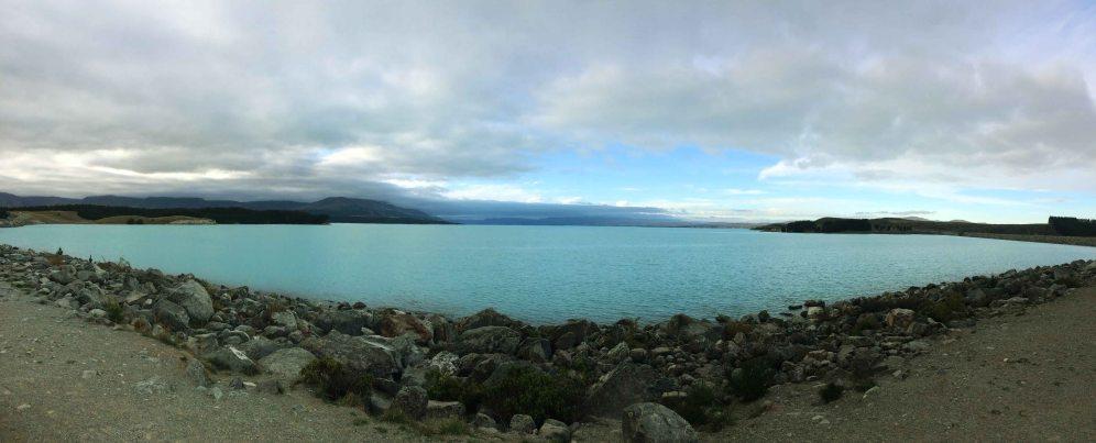 Prodloužený víkend na Pukaki Lake.