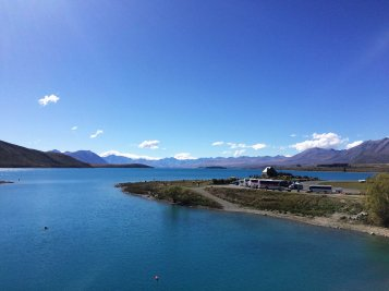 Nějaké jezero, asi Tekapo.