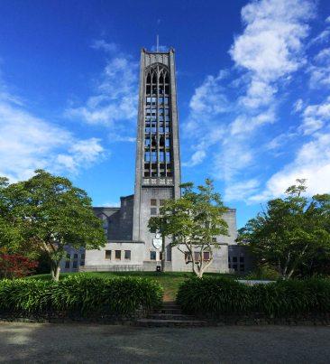 Nějakej nejvíc provětranej kostel v Nelsonu