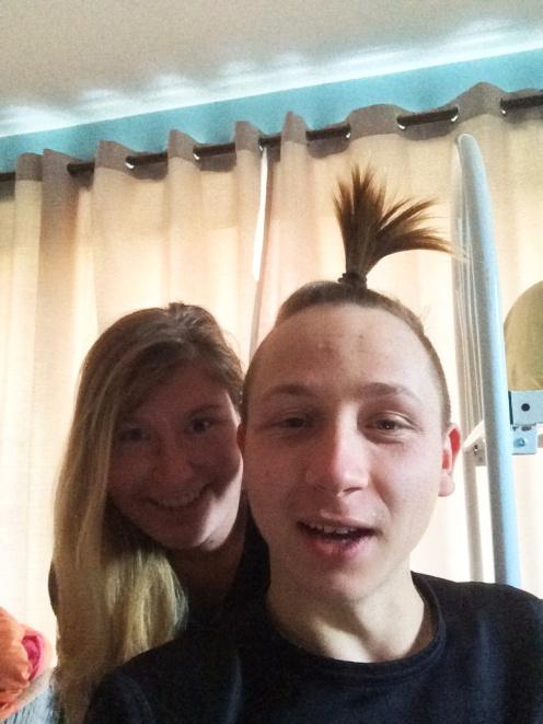 Selfie s Korektorkou.