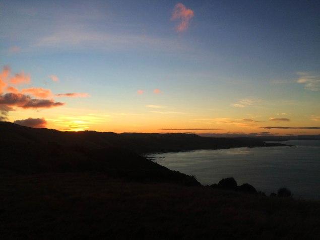 ... do západ slunce za Nugetkami