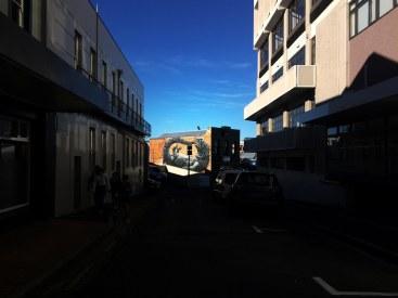 Street art v Dunedinu.