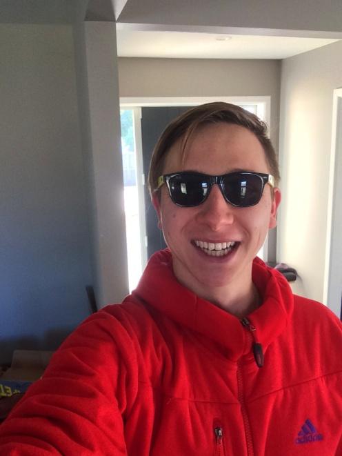 Moje nové brýle, mimochodem jsou to Ray Beny.