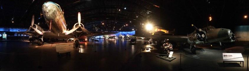 Muzeum letectví.