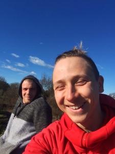 To ej tak když H dělá selfie jen semnou.
