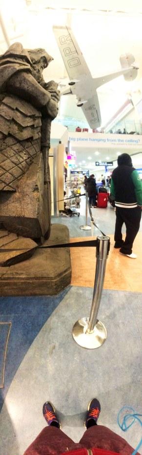 Letiště v Aucklandu, se poserte z pána prstenu.